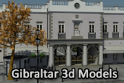 Gibraltar 3d Models & Graphics